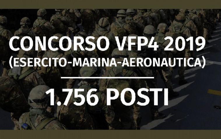 Calendario Marina Militare 2020.Concorso 1 756 Vfp4 2019 Esercito Marina Aeronautica